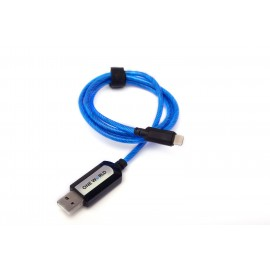 BLUE POWERPULSE CABLE LIGHTNING CONNECTOR