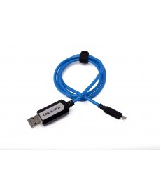 BLUE POWERPULSE CABLE MICRO USB CONNECTOR