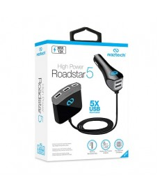 Roadstar 5 port car charger