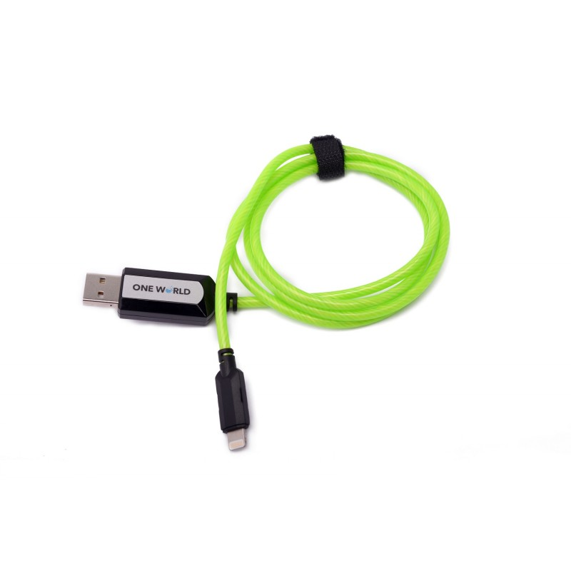GREEN POWERPULSE CABLE LIGHTNING CONNECTOR