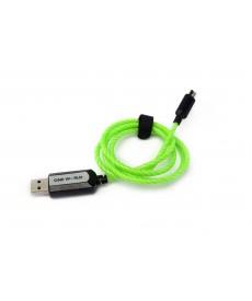 GREEN POWERPULSE CABLE MICRO USB CONNECTOR