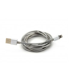 6FT POWERSHIELD APPLE LIGHTNING CONNECTOR-SILVER