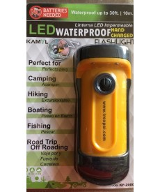 Waterproof No battery LED flashlight