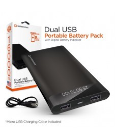 16000 mah powerbank dual usb output